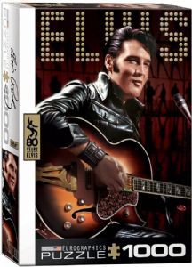 Elvis Presley with guitar 1000 piece jigsaw puzzle   680mm x 490mm    (pz)